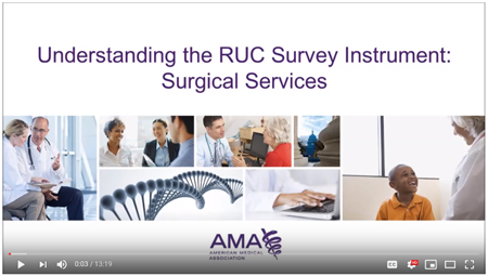 RUC survey instructions