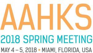 2018 AAHKS Spring logo