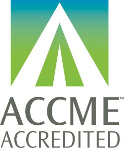 ACCME accredited logo